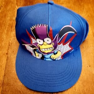 Vintage Bartman Bart Simpson snapback hat